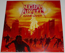 Nuclear Assault - Game Over LP - Clear w/ Splatter Vinyl Ltd Ed New (2015) Metal