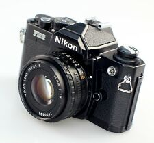 Nikon FM2N Black 35mm SLR Film Camera with Nikkor 50mm F1.8 Prime Lens