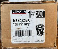 Brand New Ridgid 37390 12r 12 Npt Complete Die Head Withteeth