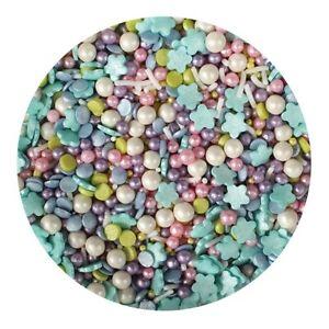 Mermaid Sprinkle Mix - 50g Edible Cake Decorations