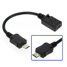 USB 2.0 A 5 Pin Female To Micro 5 Pin Male Adapter Data Cable Converter 5.5inch