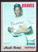 1970 Topps Hank Aaron Atlanta Braves Card #500