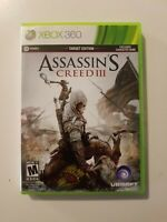 Assassins Creed III 3 Target Edition Xbox 360 Complete Two Discs (FREE Shipping)
