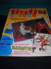 tintin Cirque 18 / 33 Journal / Belgische Comic - Zeitschrift  in . Zust. 1