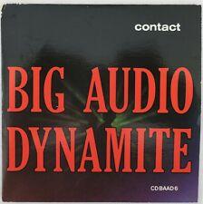 "Big Audio Dynamite 'Contact' 5"" CD Single CBS CD BAAD6 good condition."