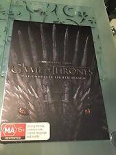 Game of Thrones Season 8 DVD R4 2019 New & Sealed *GENUINE* (4-Disc Set)