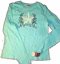 Sz S/M -  Good Will Towards Men Christmas Holiday Long Sleeve T-Shirt Top