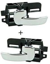 Pair Rear Right & Rear Left Inner Interior Door Handle for Nissan Qashqai 2007-