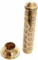 Agarbatti Stand Burner Box Cone Incense Holder Brass Safety Stick Ash Catcher