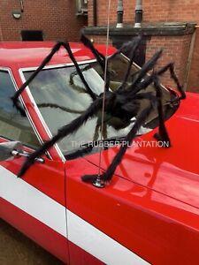 Giant Spider Prop Halloween HUGE 7ft LIGHT UP EYES Decor Haunted House Horror
