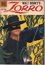 Walt Disney's Zorro Four Color Comic Book #976, Dell Comics 5th Disney 1959 FINE