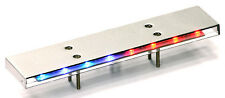 1/10 RC CAR POLICE CAR LIGHT BAR  FLASHING RED/BLUE  Metal RC Police Lights
