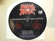 MORBID ANGEL:Abominations Of Desolation-U.K. LP Picture Disc 1991 Headache Recs.