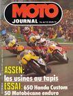 MOTO JOURNAL 467 MOTOBECANE M50 EV Enduro HONDA CB 650 C YAMAHA 250 TY 1980