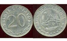 BOLIVIE   20 centavos 1973  ( bis )