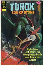 (1976) GOLD KEY TUROK SON OF STONE #104 DINOSAUR COVER! 6.0 / FINE