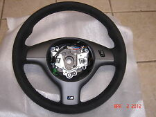 BMW E46 M3 Genuine Alcantara Leather,Suede M Steering Wheel Competition Package