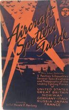 1940's WWII Military Aircraft Spotters Guide by Lt. Col. Hartney Aviation Book