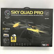 NEW RED5 Black Radio Control Sky Quad Drone V2 WiFi HD Camera 5 Channel 131281