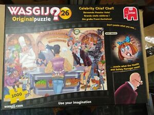 Wasgij Celebrity Chief Chef Jigsaw Puzzle - 1000 Piece (19150)