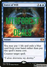 MTG - Double Masters -  Force of Will -  x1 NM