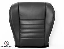 2001 2002 Ford Mustang GT V8 Convertible -Driver Bottom Leather Seat Cover Black