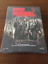 ROMA CRIMINAL TEMPORADA 2 COMPLETA - SERIE TV - 3 DVD - 600 MIN NEW SEALED NUEVA