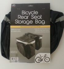 "BICYCLE REAR SEAT STORAGE BAG 10"" x 15"" x 10"""