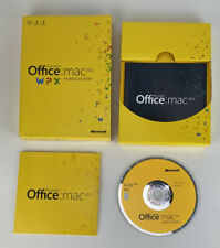 Microsoft Office Mac Home and Student 2011 With Key Code Family Pack 3 Users