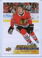 17/18 UPPER DECK YOUNG GUNS CANVAS ROOKIE RC #C235 JOHN HAYDEN BLACKHAWKS *46155