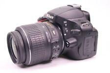 Nikon D5100 Kamera mit DX AF-S Nikkor 18-55 mm VR Auslösungen 18250 - sehr gut -