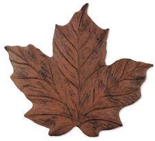 Sunset Vista Designs Wilderness Wonders Cast Iron Maple Leaf Stepping Stone, 11-