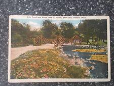 Belle Isle, Detroit Michigan ~ Vintage Postcard 1925