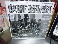 Surf Teens Surf Mania LP NEW CLEAR Colored vinyl + digital download