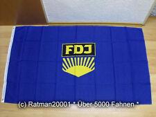 Drapeaux drapeau DDR FDJ - 90 x 150 CM