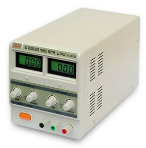 Alimentatore stabilizzato variabile regolabile professionale da banco 30 V 5 A