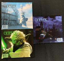 Cinefex Revue - 3 Question 90,93, 98 Star Wars 2, Spider Homme, Daredevil