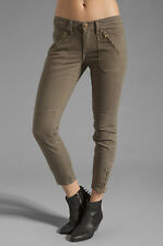 NWOT  $238   CURRENT ELLIOTT   28   MOTO STILETTO  SKINNY JEAN    OLIVE     HOT!