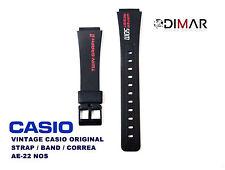 VINTAGE CASIO ORIGINAL STRAP/BAND/CORREA AE-22  NOS