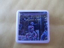 IRON MAIDEN SOMEWHERE IN TIME  ALBUM COVER    BADGE PIN