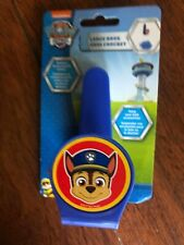 NEW boys DISNEY BABY PAW PATROL LARGE HOOK bath shower PUFF suction cup GIFT