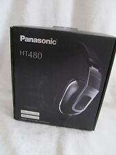 Panasonic Headphones Black RP-HT480C Foldable Monitor