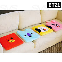 BTS BT21 Official Authentic Goods Sitting Cushion 7Characters By Kumhong Fancy