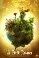 Le Petit Prince Movie Fabic Silk Poster 13*20in Home Wall Decor 002