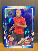 JEREMY DOKU SSP RC 2020-21 TOPPS CHROME SAPPHIRE UEFA CHAMPIONS *PACK FRESH*