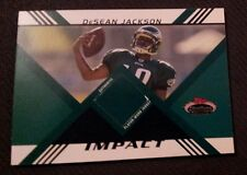 DeSean Jackson 2008 Stadium Club Impact Rookie Jersey Card  #d ERROR Eagles