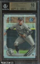 2019 Bowman Chrome Refractor Andrew Vaughn White Sox RC Rookie BGS 10