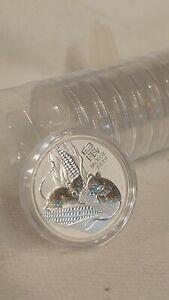 Australia Lunar III Mouse 2020 Silber Lunar 3 Maus