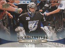 2011-12 Upper Deck UD Exclusives Dwayne Roloson