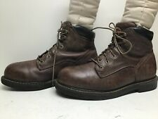 VTG MENS IRISH SETTER BY RED WING EH WORK BROWN BOOTS SIZE 11 D